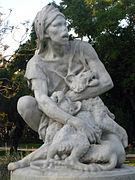 090 Caçador de lleons, parc de la Ciutadella.JPG