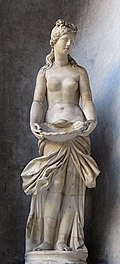 0 Aphrodite au coquillage - Museo Pio-Clementino (Vatican).JPG