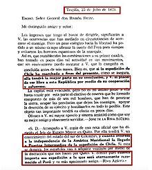 1º Presidente de Perú: José de la Riva Agüero