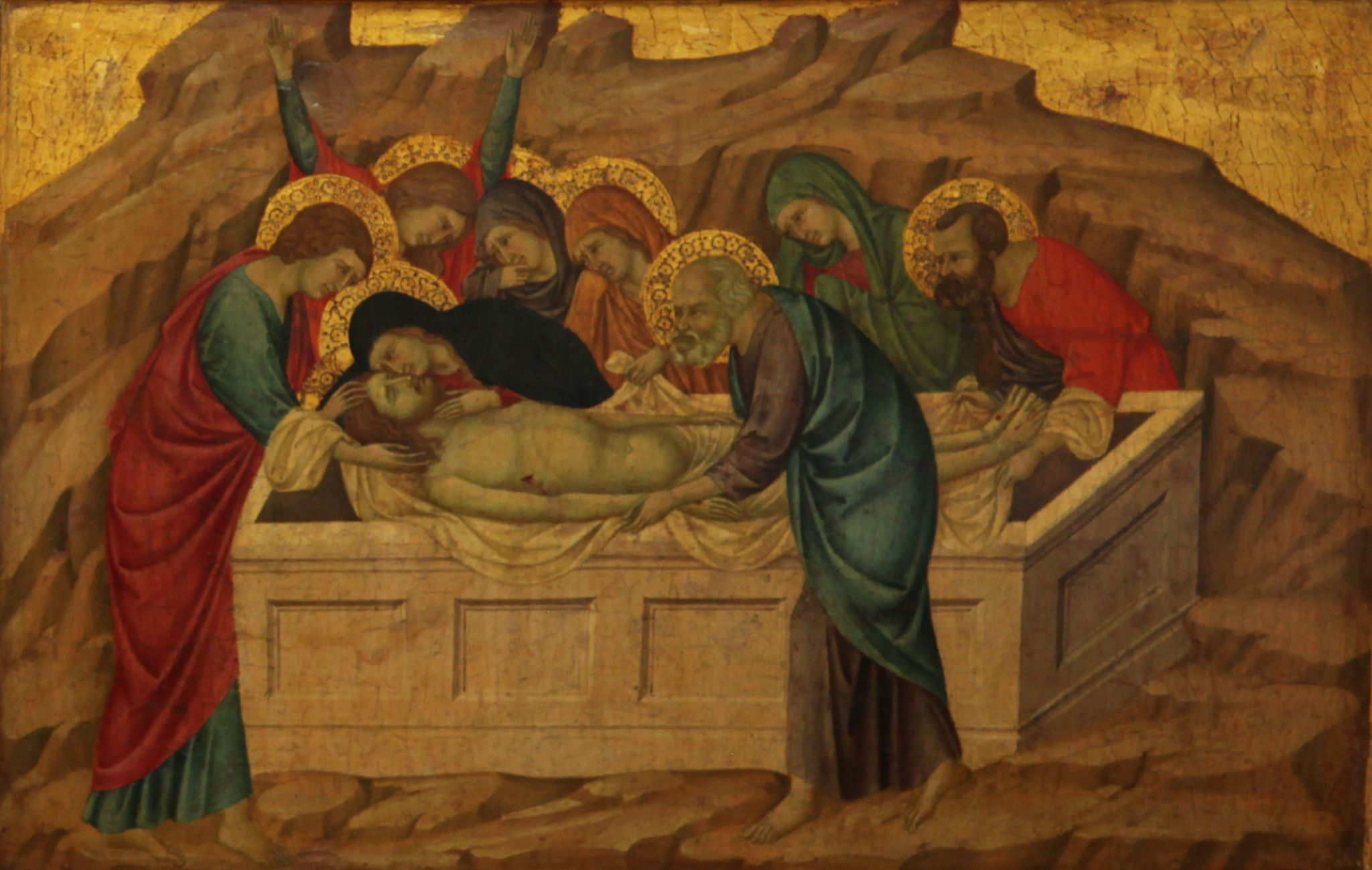 the entombment During his early period – when he painted the pastoral concert – titian was strongly influenced by giorgione his art later reached its fullest expression in.