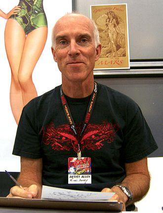 Michael Dooney - Dooney at the 2011 New York Comic Con.