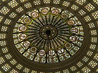 Chicago Cultural Center - Tiffany glass dome