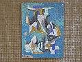 1100 Bergtaidingweg 17 Stg. 52 PAHO - Smaltenmosaik-Hauszeichen Abstrakte Komposition von Edda Mally IMG 7660.jpg