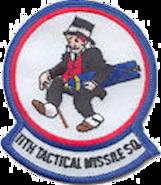 11th Tactical Missile Squadron - Emblem