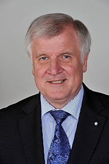 Horst Seehofer German politician (CSU) and Federal Minister of the Interior