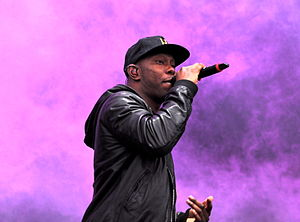 "Demonstration (Tinie Tempah album) - Dizzee Rascal has been a key influence for Tinie since his childhood, and features on the album track ""Mosh Pit""."