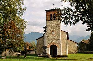 La Terrasse - The church of Saint Aupre, in La Terrasse