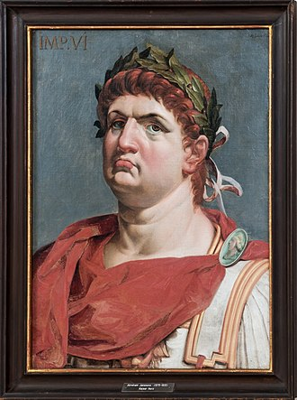 Handel's lost Hamburg operas - Portrait of Nero (17th century)