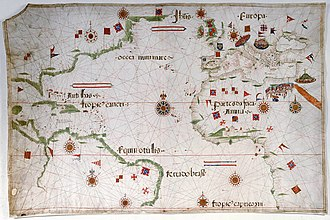 Pedro Reinel - Image: 1535 pedro reinel atlantic nord 02