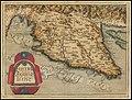 1579 map of Istria by Johannes Matalius Metellus.jpg