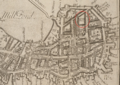 1743 Copps Hill NorthEnd Boston map WilliamPrice BPL 10913 detail.png