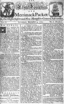 List of newspapers in Massachusetts - Wikipedia