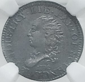 Adam Eckfeldt - The obverse of the 1792 half disme
