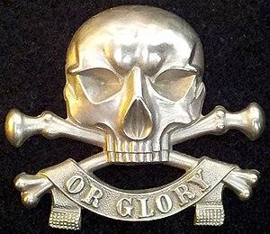 17th Lancers - cap badge, original, antique.jpg