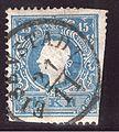 1858 Stamp Austria-Hungary 0015 II, Eisenstadt, 21 November.jpg