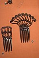 1860 French jet hair combs (25064609927).jpg
