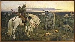 Viktor Mikhailovich Vasnetsov: Knight at the Crossroads