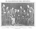 1903-02-11, Nuevo Mundo, El saloncillo del Español, Compañy.jpg