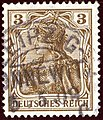 1909 3pfg Reich Leipzig-Connewitz Yv82 Mi84I.jpg