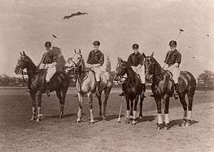 International Polo Cup - 1909 British team