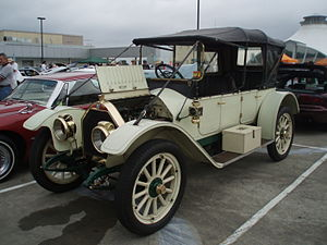 Chalmers Automobile - 1913 open touring car in Australia
