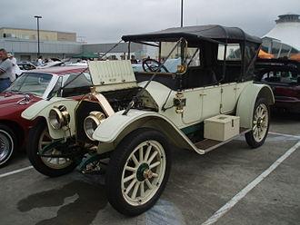 Chalmers Automobile - 1913 open touring car in Australia