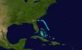 1916 Atlantic tropical storm 12 track.png