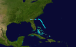 1916 Atlantic tropical storm 12 track.png