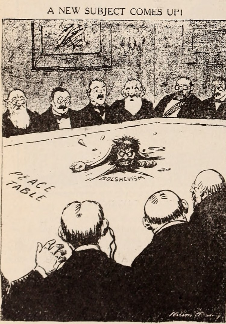 1919 Political Cartoon