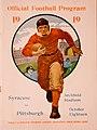 1919 Syracuse versus Pittsburgh football program cover.jpg
