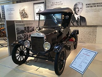 Henry Ford - A 1926 Ford T Roadster on display in India