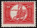 19281118 10sant Latvia Postage Stamp.jpg