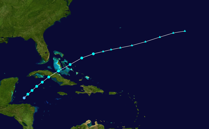 File:1931 Atlantic tropical storm 10 track.png