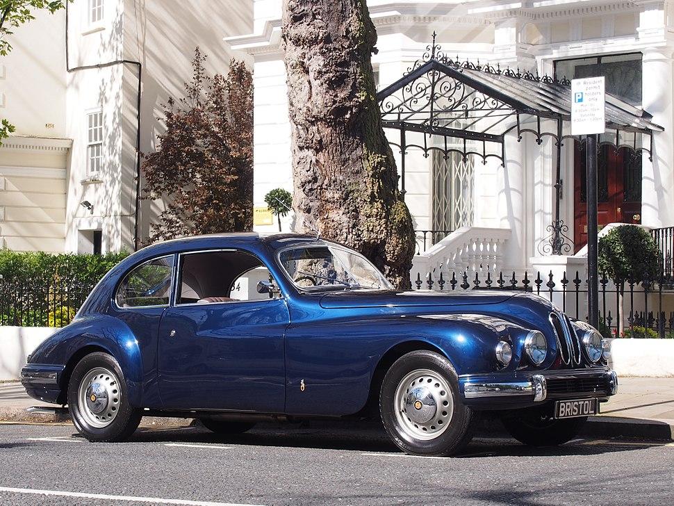 1952 Bristol 401 in Holland Park, Kensington, London