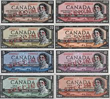 1954 Series Banknotes Wikipedia