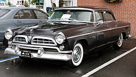 1955 Chrysler Windsor Deluxe front.jpg