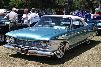 Plymouth Fury - 1960 Plymouth Fury convertible