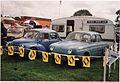1960 Renault 4CV & 1966 Renault Dauphine Gordini (16556779596).jpg