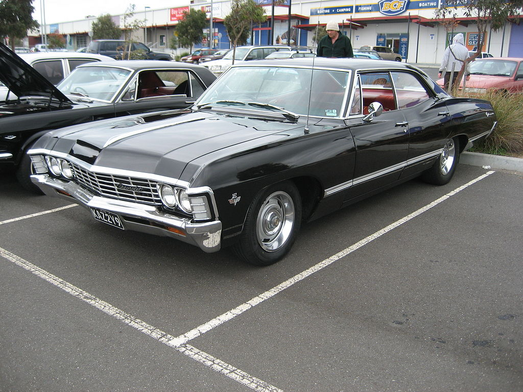 File 1967 Chevrolet Impala 4 Door Hardtop Jpg Wikimedia