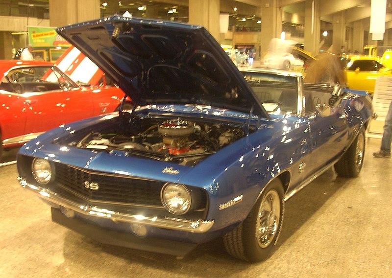 1969 Chevrolet Camaro SS Convertible - Kloompy