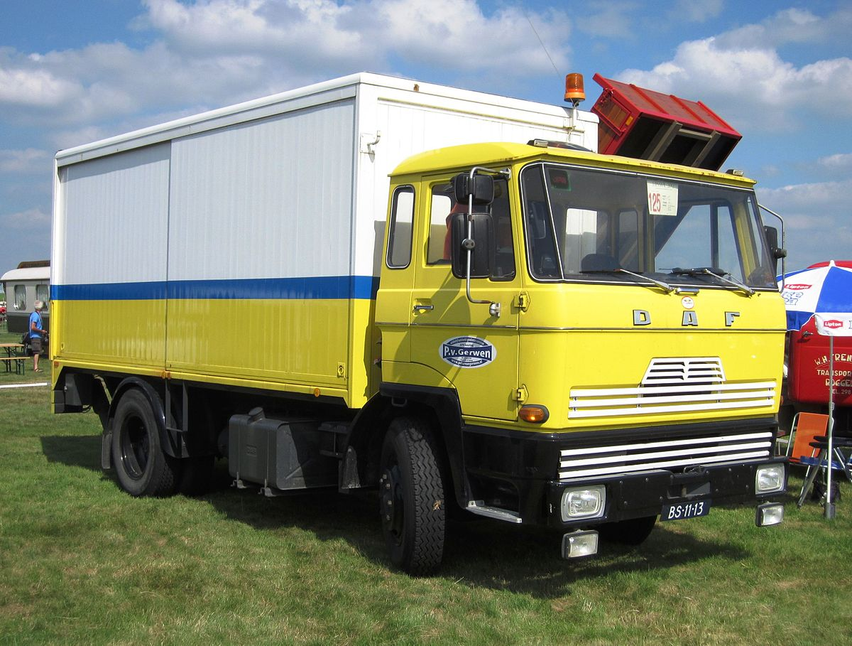 Used Diesel Trucks >> DAF F218 series - Wikipedia