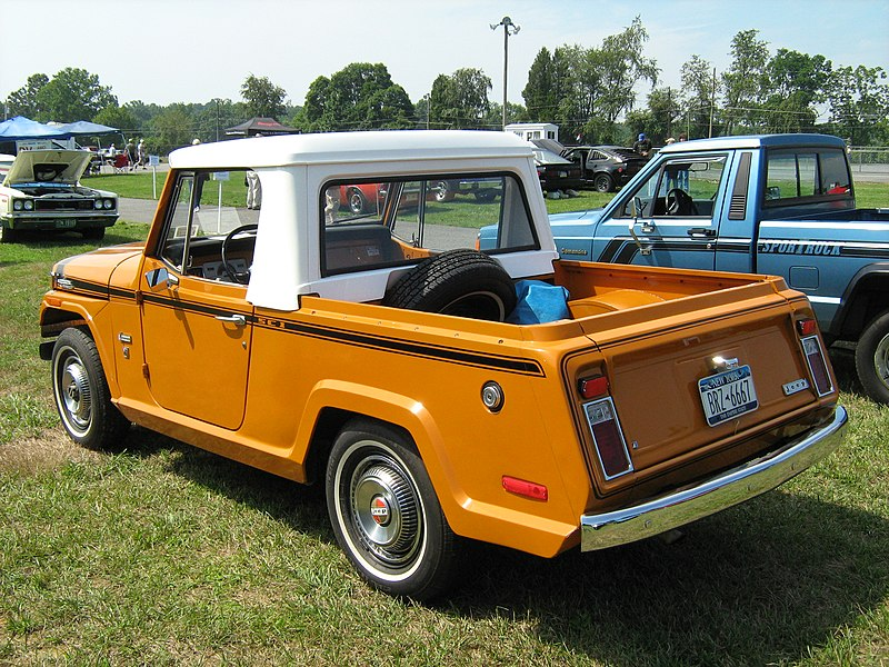 file 1971 jeepster commando sc 1 pickup orange b cecil 39. Black Bedroom Furniture Sets. Home Design Ideas