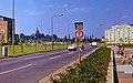 1972-06 Dresden-Sankt Petersburger Straße (von 1970-90 Leningrader Straße), Rathenauplatz Geschwindigkeitsanzeige.jpg