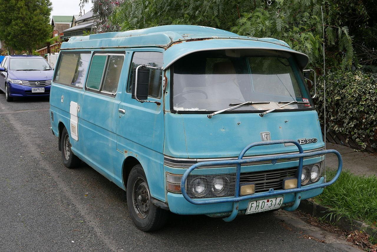 Nissan Door Van Camper Conversion
