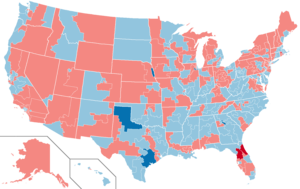 United States House of Representatives elections, 1988 - Image: 1988 United States House Elections