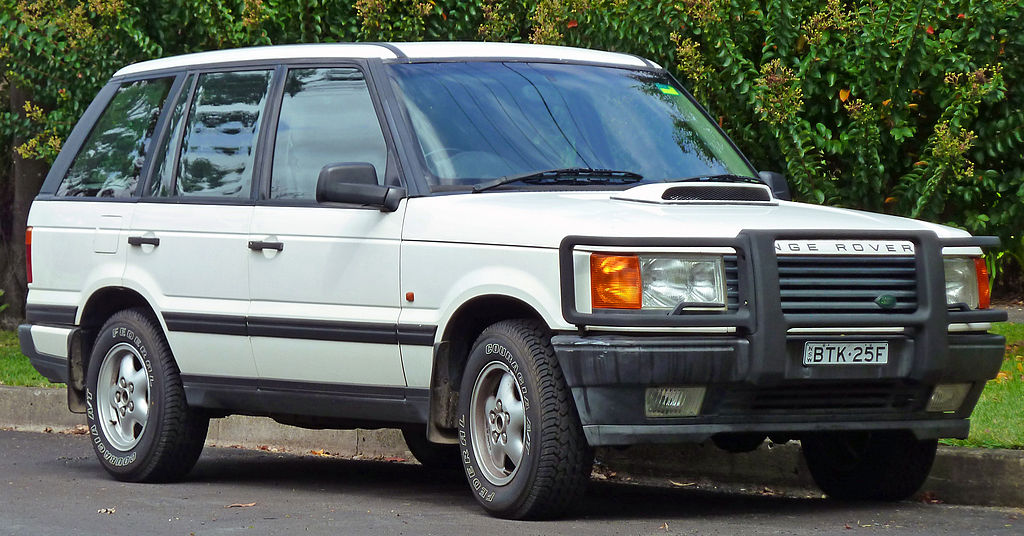 1995 1998 Land Rover Range Rover P38a 4 6 Hse Wagon Photographed In Lindfield New South
