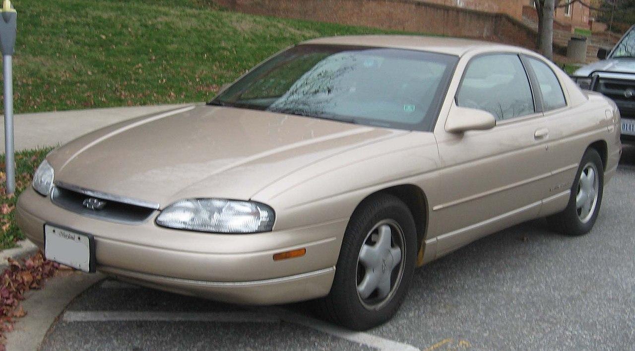 All Chevy 1995 chevrolet monte carlo : File:1995-1999 Chevrolet Monte Carlo.jpg - Wikimedia Commons