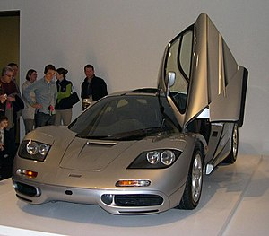 McLaren F1 - Image: 1996 Mc Laren F1