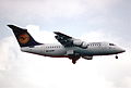 19bs - Lufthansa Avro RJ 85; D-AVRR@FRA;02.04.1998 (5164309584).jpg