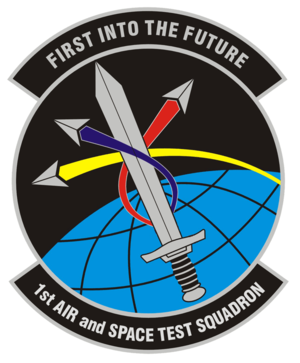 1st Air and Space Test Squadron - 1st Air and Space Test Squadron emblem